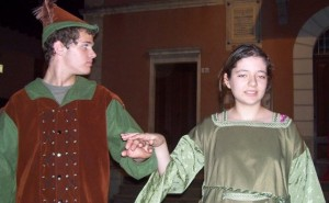 Robin Hood e lady Marian