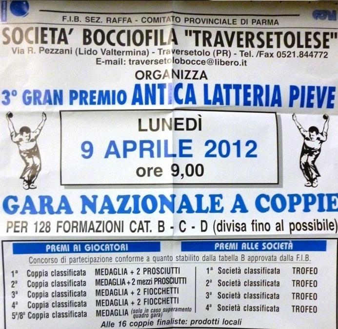 Bocce Parma