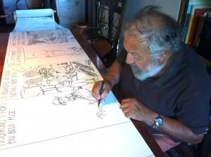 vignettista Ro Marcenaro