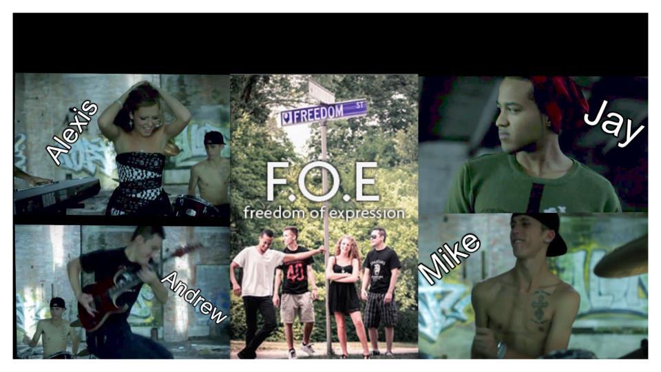 F.o.e. freedom of expression