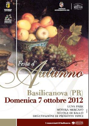 festa_dautunno  Basilicanova 2012