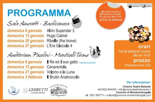 programma auditorium Monticelli terme 2012