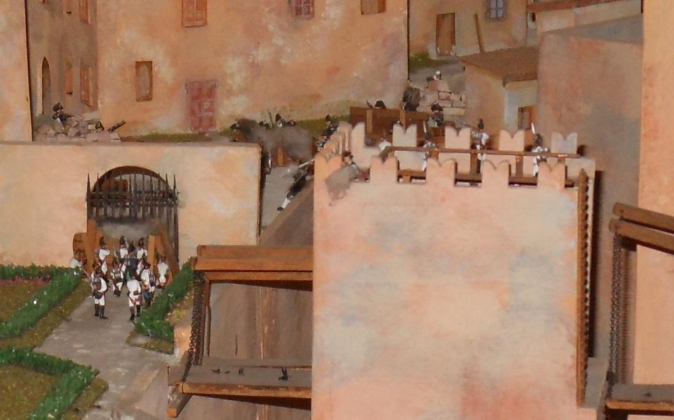 Dal Modellino ricostruito nel palazzo civico del comune di Montechiarugolo