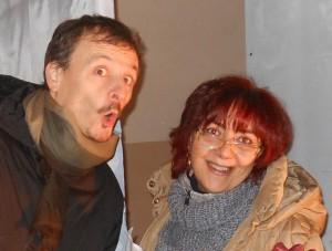Mark Imopegno e Partrizia Tiberti