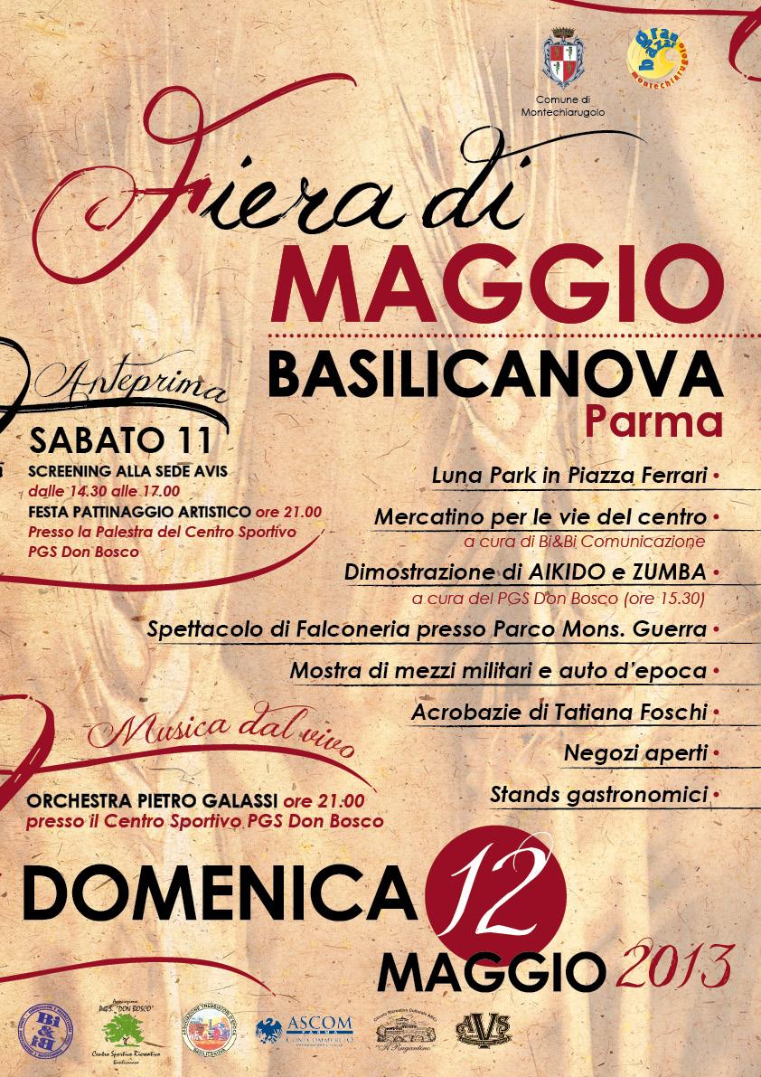 fiera di Maggio Basilicanova 2013