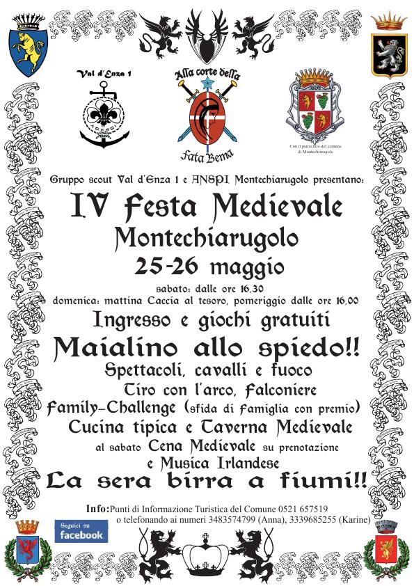 IV festa medioevale Montechiarugolo 2013