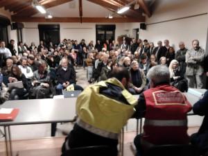 il Sindaco con Protezione Civile e Croce Rossa hanno fatto il punto della drammatica situazione che sta vivendo il tizzanese.