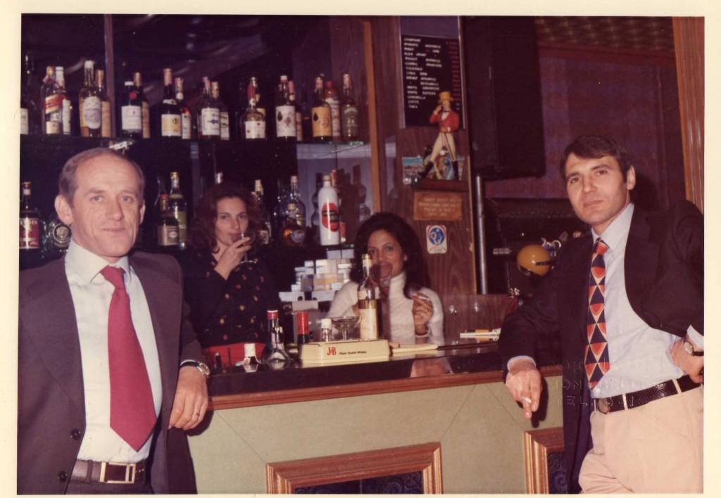 Bar dancing Giardino Monticelli Terme  anni 1960