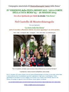 Bema, Montechiarugolo 2013