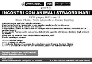 Animali Straordinari - cartolina retro