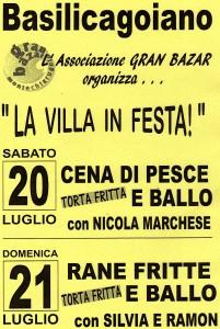 festa del pesce Basilicagoiano 2013