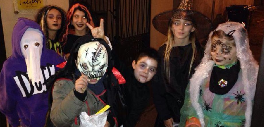Montechiarugolo -hallowen  perle strade