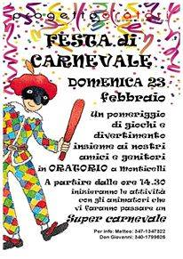 Carnevale a Monticelli terme