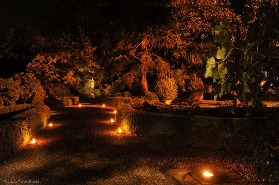 Castello di Montechiarugolo in notturna il 19 Maggio