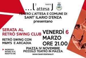 """RETRO' SWING in """"Serata al Club""""- San Ilario D'Enza 2015"""