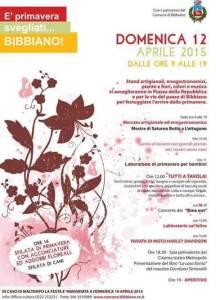 Festa di primavera Bibbiano 2015
