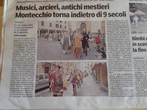 Gazzetta di Parma, montecchio emilia 2015