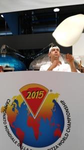 Fabrizio Lanzi campionato mondiale della pizza 2015