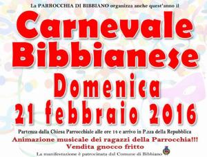 carnevale Bibbiano 2016