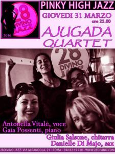 28DiVino Jazz  AJUGADA QUARTET