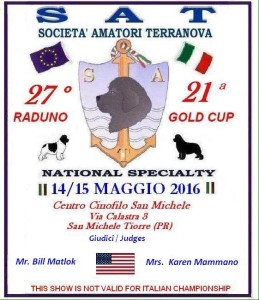 Società amatori Terranova GOLD CUP SAT 2016