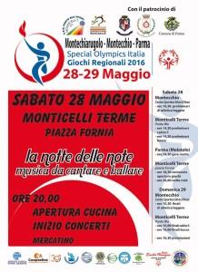 Monticelli terme circolo Punto blu Special Olympics circolo Punto Blu