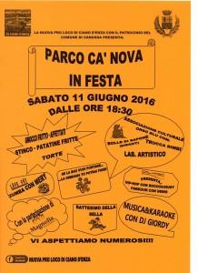 Eventi giugno 2016 nella Valdenza