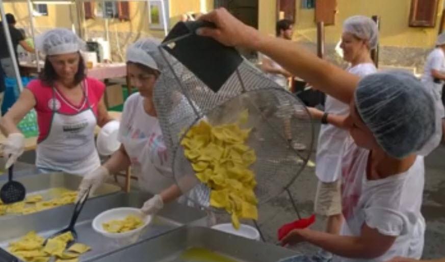 Tortellata di San Giovanni Montechiarugolo 2016
