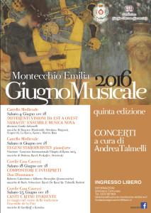 AL VIA LA 5° EDIZIONE DEL 'GIUGNO MUSICALE' MONTECCHIESE