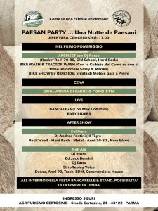 Paisan Party 2016 Notte da