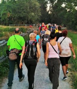 San Polo d'Enza camminata serale 2016