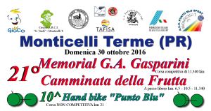 21° Memorial Gasparini Monticelli T.