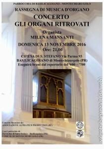 Milena Mansanti e organo Neri Poncini 1750