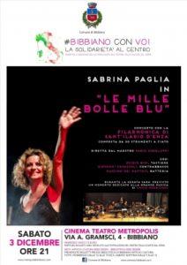 """SABRINA PAGLIA """"LE MILLE BOLLE BLU"""