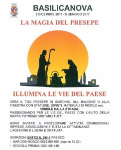 La magia del Presepe Basilicanova 2016