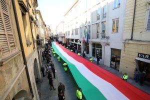 220°anniversario della bandiera Italiana