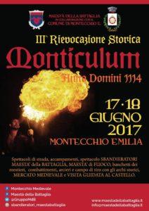 Monticulum 3°Festa medievale 2017