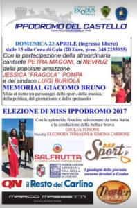 Dafne Apollonio Miss Ippodromo del Castello