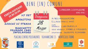 Festa del Bene (in) Comune Monticelli Terme 2017