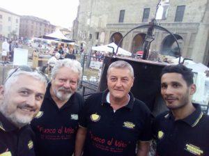 La squadra Fuoco al Mito di stasera Parma — presso Gola Gola Festival.