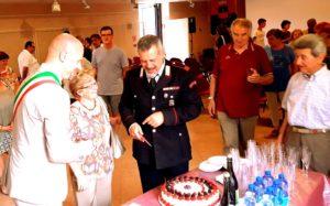 Auguri per il nuovo incarico Maresciallo Andrea Berci