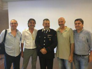 Auguri per il nuovo incarico Maresciallo Andrea Berci Auguri per il nuovo incarico Maresciallo Andrea Berci