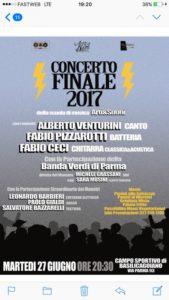 Arte e suoni concerto finale 2017 Basilicagoiano