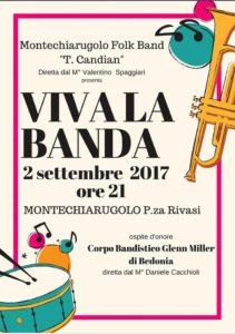 Viva La Banda Comune di Montechiarugolo 2017