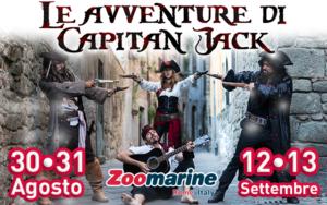 Le avventure di capitan Jack Zoomarine Roma con Simone Calcagno
