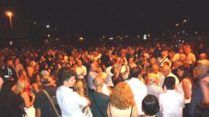 Il popolo della notte e la silenziosa manifestazione