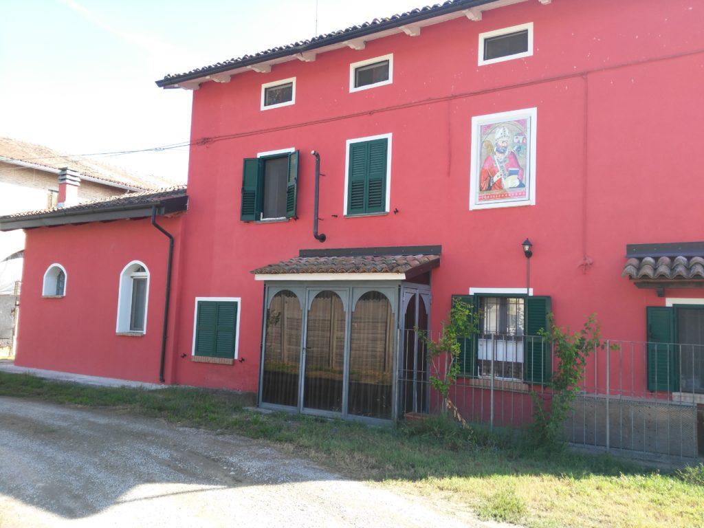 San Geminiano PR primo caseificio di Montechiarugolo Pino Pollara- pittore