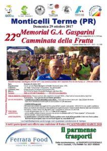 22* Memorial Gasparini Monticelli Terme 2017