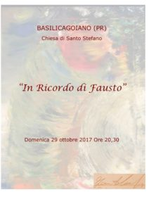 In ricordo di Fausto Consigli Basilicagoiano