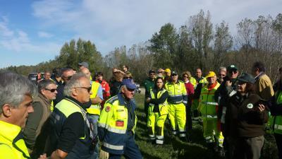 Esercitazione protezione civile casse espansione 2017